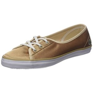 Lacoste Ziane Chunky 118 2 Caw, Baskets Femmes, Or (Or GLD/WHT), 40 EU