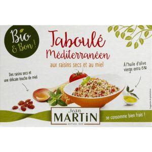 Jean martin Taboule mediterraneen aux raisins secs et miel, bio