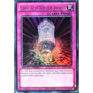 Konami Lc04-Fr003 - Carte Yu-Gi-Oh Carte de la dernière volonté