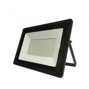 Silamp Projecteur LED Extérieur 150W IP65 Noir - Blanc Neutre 4000K - 5500K