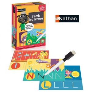 Nathan J'écris les lettres