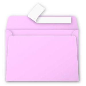 Pollen 5536C - Enveloppe 114x162, 120 g/m², coloris rose dragée, en paquet cellophané de 20