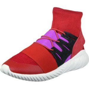Adidas Tubular Doom Winter, Chaussures de Fitness Homme, Multicolore-Rouge écarlate/Violet Escarl/Pursho, 41 1/3 EU