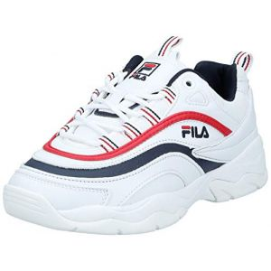 FILA Ray Low WMN, Sneakers Basses Femme, Blanc