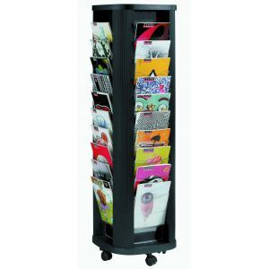 Paperflow Présentoir mobile Colonne (40 cases)