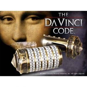 The Noble Collection Réplique Mini Cryptex Da Vinci Code