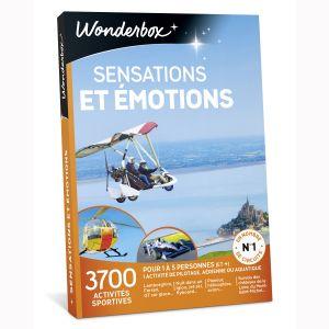 Wonderbox Sensations et émotions - Coffret cadeau