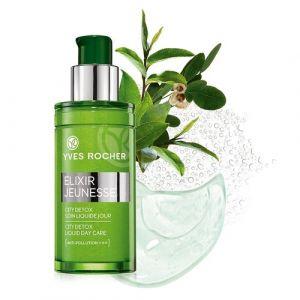 Yves Rocher Elixir jeunesse - City detox soin liquide jour