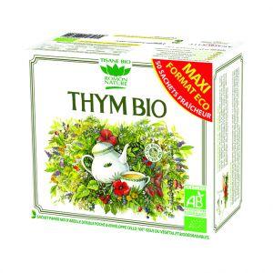 Tisane au thym bio en boite de 85 g