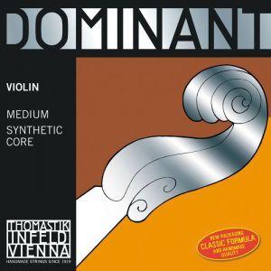 Thomastik Dominant Strings 131 1/2 Cordes Violon Dominant Noyau plein nylon Taille 1/2