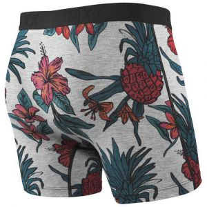 Saxx Underwear Vêtements intérieurs Ultra Boxer Fly - Heather Pineapple - Taille M