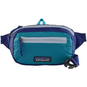 Patagonia Ceinture banane ultralight black hole mini hip pack bleu
