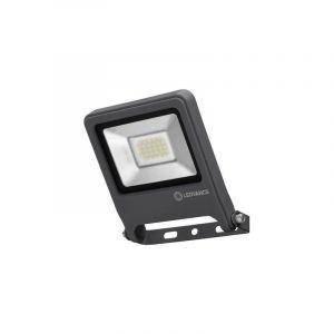 Ledvance Endura Flood LED | Projecteur Extérieur | Gris foncé | 20 Watts - 1600 Lumens | Blanc Chaud 3000K | Etanche IP65