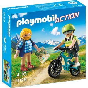 Playmobil 9129 Action - Randonneur et cycliste