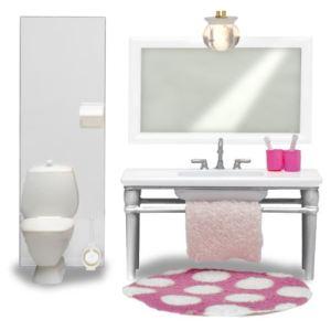 Lundby Ensemble lavabo et WC Smaland pour maison de poupée