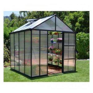 Palram Serre de jardin en polycarbonate Glory 4,3 m² - longueur : 2,44 m