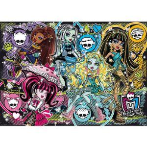 Clementoni Puzzle Monster High : Pêle Mêle 250 pièces