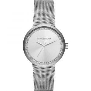 Emporio Armani AX4501 - Montre pour femme avec bracelet en acier