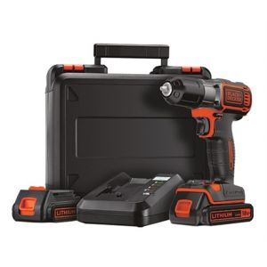 Black & Decker ASD18KB - Perceuse AutoSense sans fil 18V