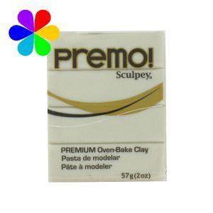 Sculpey Pâte Polymere a Modeler Premo Pearl - Pâte à modèler polymère Premo - Pearl