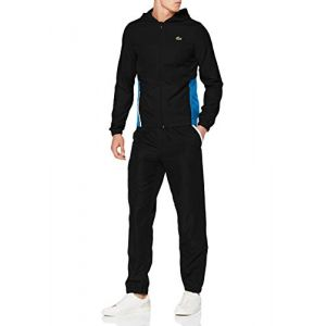 Lacoste Sport WH8606 Ensemble de Sport, (Noir/Sumatra-Blanc 4xu), XX-Large (Taille Fabricant:7) Homme