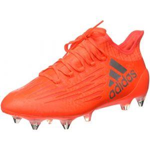 Adidas X 16.1 SG - Bottes de Football pour Homme, Rouge, Taille: 46 2/3