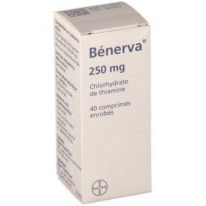 Image de Bayer Bénerva 250 mg - 40 comprimés