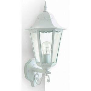 Lutec Applique extérieure BRISTOL Blanc, 1 lumière - Classique - Extérieur