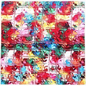Allée du foulard Carré de soie Premium Prisme