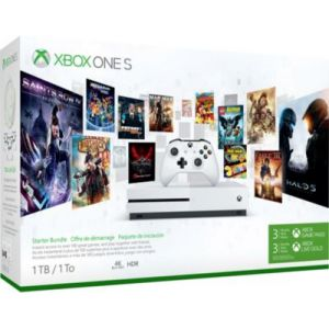 Microsoft Xbox One S 1To 3M Game Pass et 3M Live