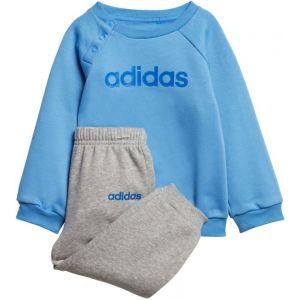 Adidas Ensemble / Linear Fleece Jogger Bleu/Gris - Taille 12-18 Mois