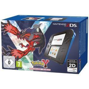 Nintendo 2DS - La console + Le jeu Pokemon Y