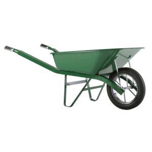 Haemmerlin 302334106 - Brouette Bati Plus peinte roue gonflée 100 L