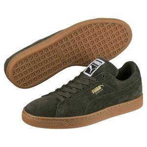 Puma Suede Classic chaussures forest nicht/team gold 38 EU