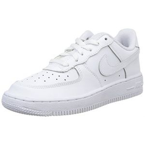 Nike Chaussures de Basketball Garçon - Blanc - Blanc (White/White-White 117), 33.5 EU EU