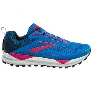 Brooks Chaussures Cascadia 14 - Blue Aster / Beetroot / Grey - Taille EU 39