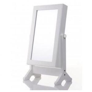 Armoir à bijoux avec miroir
