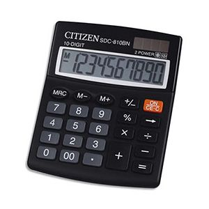 Citizen SDC-810BN - Calculatrice de table petit format