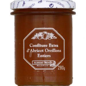 Albert ménès Confiture extra d'abricot oreillons entiers - Le pot de 280g