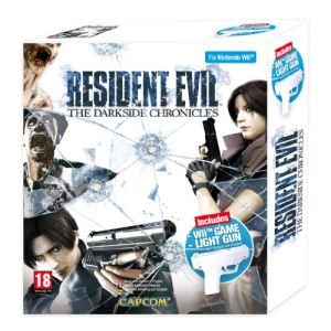 Bundle Resident Evil : The Darkside Chronicles + Official Wii Game Light Gun [Wii]