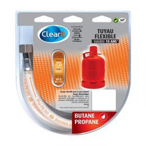 Clearit 75S2706 - Tuyau flexible pour Butane propane - 10 ans (2 m)