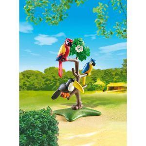 Playmobil 6652 - Famille de pandas
