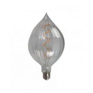 Ampoule LED rétro Edison Pedro (H.23,5cm) filament spiral 4W (E27)