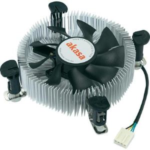 Akasa AK-CCE-7106HP - Ventilateur de processeur Low Profil  socket LGA775 and LGA115X