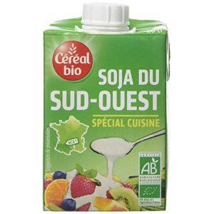 Céréal bio Crème de soja du Sud Ouest cuisiné Bio - 3x 20 cl