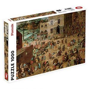Piatnik Puzzle 1000 pièces - Brueghel : Jeux d'enfant