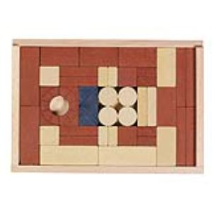 Anker Boîte de jeu de construction en bois