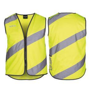 Wowow 016015 Gilet haute visibilité, L, jaune