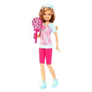Mattel Barbie et ses soeurs - Stacie et sa sucette géante