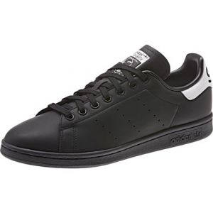Adidas Baskets basses STAN SMITH Noir - Taille 36,38,40,42,44,46,36 2/3,37 1/3,38 2/3,39 1/3,40 2/3,41 1/3,42 2/3,43 1/3,44 2/3,45 1/3,46 2/3,47 1/
